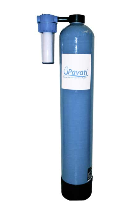 Whole house water filtration system city water system for Water feature filtration system