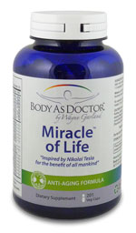 Miracle of Life anti-aging nutritional supplement