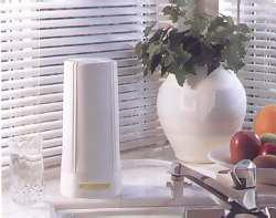 image of countertop water filtration system
