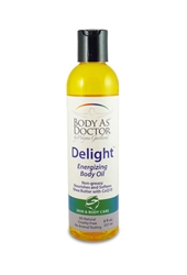 Delight Energizing Body Oil Bottle