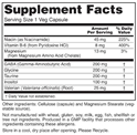 Tolerance Stress-X Supplement Facts