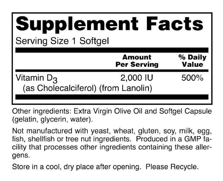 Vitamin D-3 Capsules   Immunity Formula