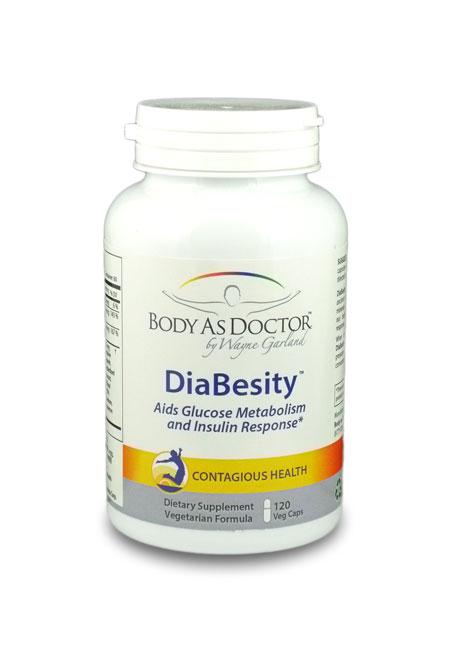 DiaBesity Blood Glucose Support Bottle