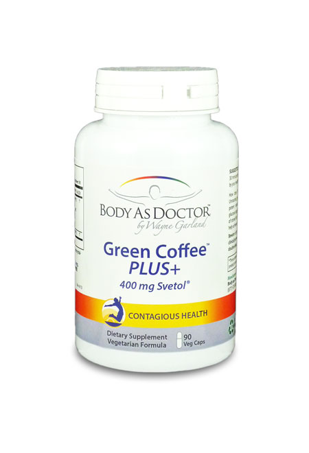 Green Coffee Bean Extract Bottle