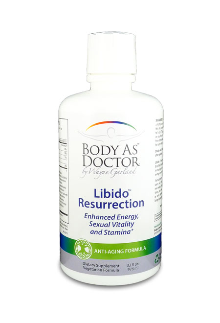 Libido Resurrection Herbal Tonic Bottle
