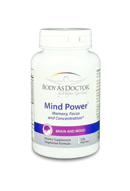 Mind Power Brain Anti-Aging Bottle