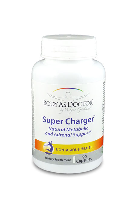 Super Charger Energy Boost Bottle