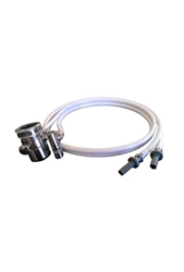 Countertop Water Filter Diverter Hose - Metal