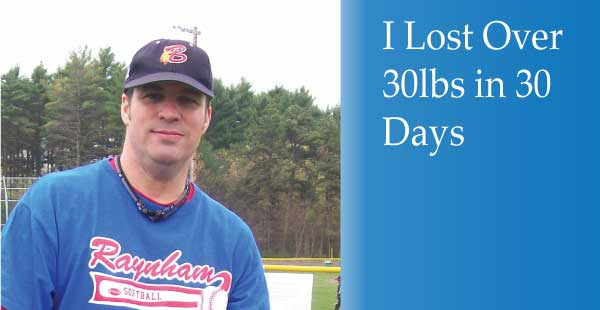 How I Lost 30lbs in 30 Days with Easy Cleanse Detox